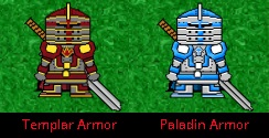 New Armor for Paladins and Templars