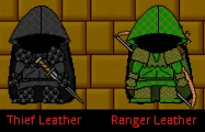 New Armor for Rangers and Theives
