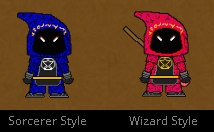 New Cloth for Wizards and Sorcerers